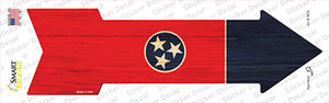 Tennessee State Flag Wholesale Novelty Arrow Sticker Decal