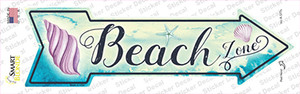 Beach Zone Wholesale Novelty Arrow Sticker Decal