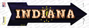 Indiana Bulb Lettering Wholesale Novelty Arrow Sticker Decal