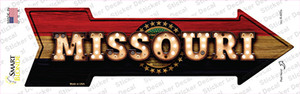 Missouri Bulb Lettering Wholesale Novelty Arrow Sticker Decal
