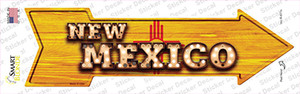 New Mexico Bulb Lettering Wholesale Novelty Arrow Sticker Decal