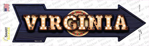 Virginia Bulb Lettering Wholesale Novelty Arrow Sticker Decal