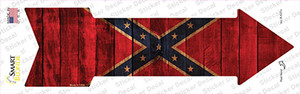 Confederate Flag Wholesale Novelty Arrow Sticker Decal