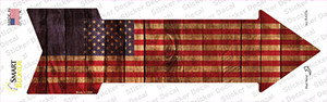 American Flag Wholesale Novelty Arrow Sticker Decal