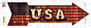 USA Bulb Letters Wholesale Novelty Arrow Sticker Decal