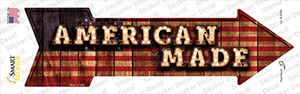 American Made Bulb Letters Wholesale Novelty Arrow Sticker Decal