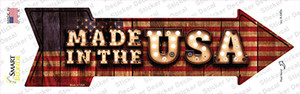 Made in the USA Bulb Letters Wholesale Novelty Arrow Sticker Decal