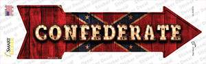 Confederate Bulb Lettering Wholesale Novelty Arrow Sticker Decal