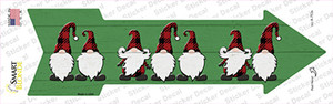 Christmas Gnomes Wholesale Novelty Arrow Sticker Decal