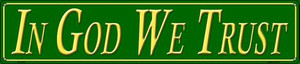 In God We Trust Wholesale Novelty Metal Street Sign ST-1276