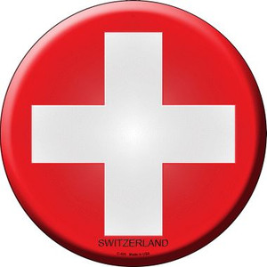 Switzerland Country Wholesale Novelty Metal Circular Sign
