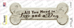 All You Need Is Wholesale Novelty Bone Sticker Decal