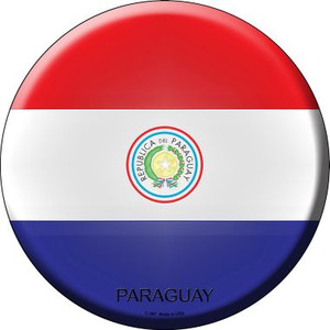 Paraguay Country Wholesale Novelty Metal Circular Sign