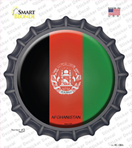 Afghanistan Country Wholesale Novelty Bottle Cap Sticker Decal
