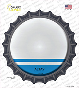 Altay Country Wholesale Novelty Bottle Cap Sticker Decal
