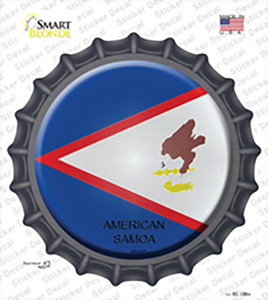American Samoa Country Wholesale Novelty Bottle Cap Sticker Decal