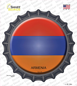 Armenia Wholesale Novelty Bottle Cap Sticker Decal