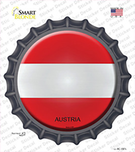 Austria Wholesale Novelty Bottle Cap Sticker Decal