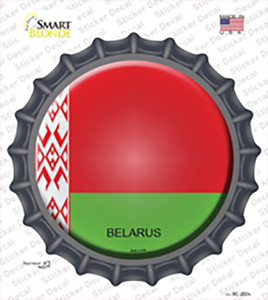 Belarus Country Wholesale Novelty Bottle Cap Sticker Decal