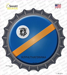 Bophuthatswana Country Wholesale Novelty Bottle Cap Sticker Decal
