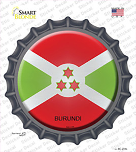 Burundi Country Wholesale Novelty Bottle Cap Sticker Decal