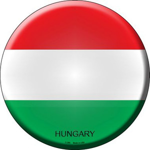 Hungary Country Wholesale Novelty Metal Circular Sign