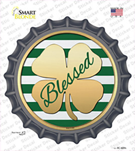 Blessed Wholesale Novelty Bottle Cap Sticker Decal