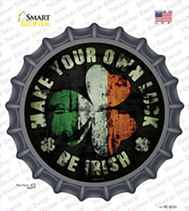 Make Your Own Luck Wholesale Novelty Bottle Cap Sticker Decal