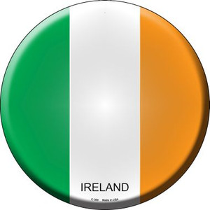 Ireland Country Wholesale Novelty Metal Circular Sign