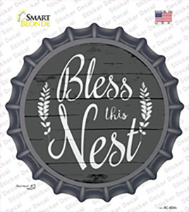 Bless the Nest Wholesale Novelty Bottle Cap Sticker Decal