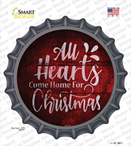 Come Home For Christmas Wholesale Novelty Bottle Cap Sticker Decal