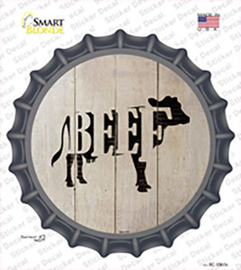 Cows Make Beef Wholesale Novelty Bottle Cap Sticker Decal