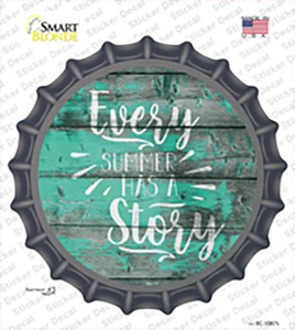 Every Summer Story Wholesale Novelty Bottle Cap Sticker Decal