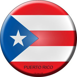 Puerto Rico Country Wholesale Novelty Metal Circular Sign