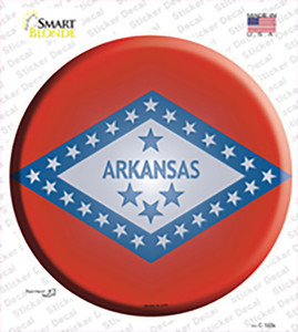 Arkansas State Flag Wholesale Novelty Circle Sticker Decal