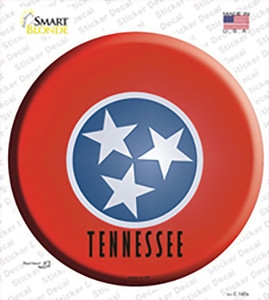 Tennessee State Flag Wholesale Novelty Circle Sticker Decal