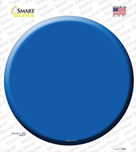 Blue Wholesale Novelty Circle Sticker Decal