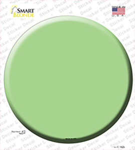 Lime Green Wholesale Novelty Circle Sticker Decal