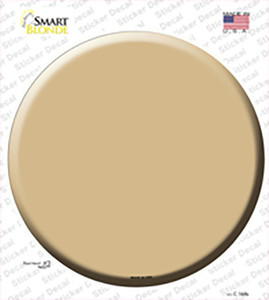 Gold Wholesale Novelty Circle Sticker Decal