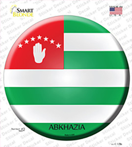 Abkhazia Country Wholesale Novelty Circle Sticker Decal
