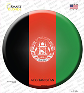 Afghanistan Country Wholesale Novelty Circle Sticker Decal