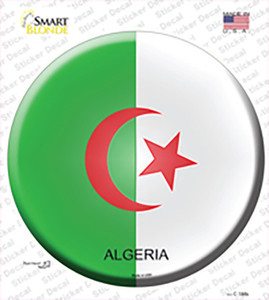Algeria Country Wholesale Novelty Circle Sticker Decal