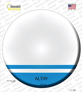 Altay Country Wholesale Novelty Circle Sticker Decal