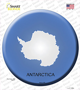Antarctica Country Wholesale Novelty Circle Sticker Decal