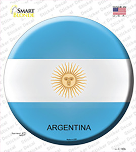 Argentina Wholesale Novelty Circle Sticker Decal