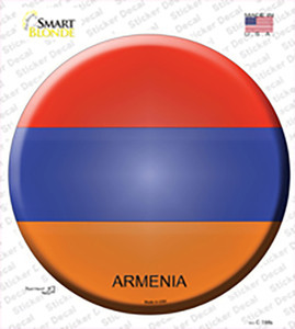 Armenia Wholesale Novelty Circle Sticker Decal