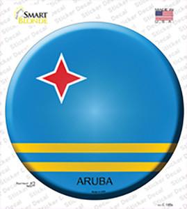 Aruba Wholesale Novelty Circle Sticker Decal