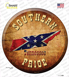 Southern Pride Tennessee Wholesale Novelty Circle Sticker Decal