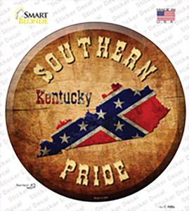 Southern Pride Kentucky Wholesale Novelty Circle Sticker Decal