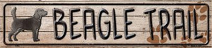 Beagle Trail Wholesale Novelty Metal Small Street Signs